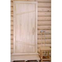 Дверь банная с коробкой (липа)