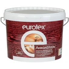 """""""Евротекс"""" аквалазурь (защитно-декоративное покрытие) 2,5 кг"""